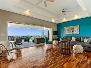 Laule'a Hale-Impressive Ocean Views and Kona Sunsets in Kahakai Estates, Kailua-Kona