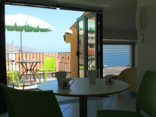 homely mini-attic in Taormina center