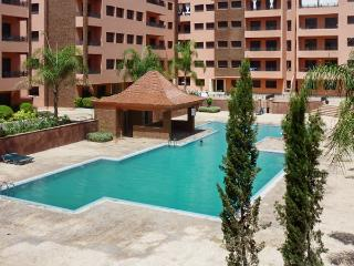 Stylish apartment near the heart of Marrakech with swimming pool, air con and WiFi