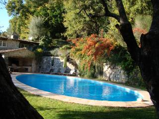 Stylish, rustic villa, 3 of 5 bedrooms with aircon, Tourrettes-sur-Loup