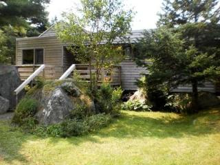 The Frances Louis House in Port Joli Nova Scotia is large enough for a family of five looking for a beach vacation
