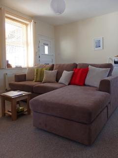 16 Trinity Mews - a nice comfy sofa to snuggle up on.