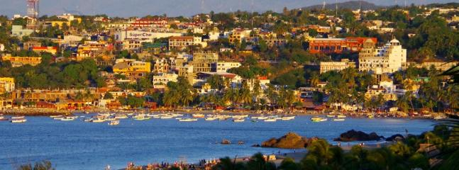Town of Puerto Escondido.
