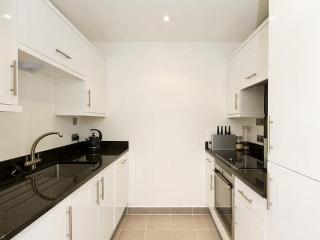 Modern kitchen with smart appliances