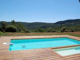 Design Villa, amazing view and large pool, Sillans-la-Cascade