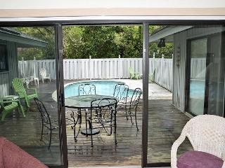 3 BR/3BA Home + Plus a Bonus BR- Fenced W/Private Pool - 4 BIKES INCLUDED