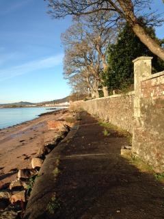 Coastal footpath.