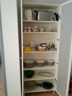 Kitchen stuff cabinet