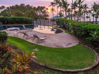 Direct sunset views from the lanai!