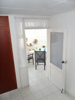 Access to balcony from room