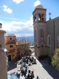 Castelmola, above Taormina