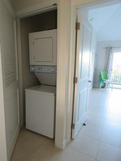 washer and dryer on 2nd floor