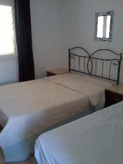 Upstairs bedroom - double bed