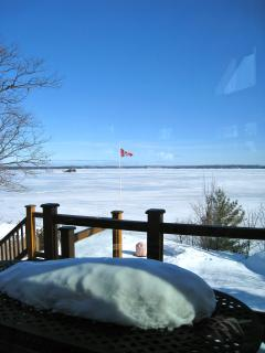 Winter View to Lake Muskoka