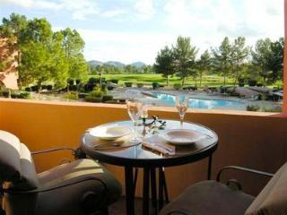 Stunning pool and golf views, and best location in Anasazi Village