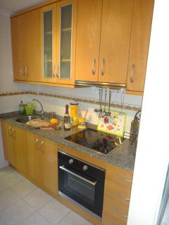 Kitchen with separate utility room