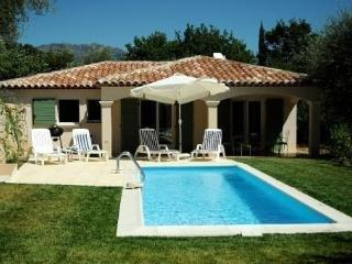 It is a charming, new villa with private Pool, Le Broc