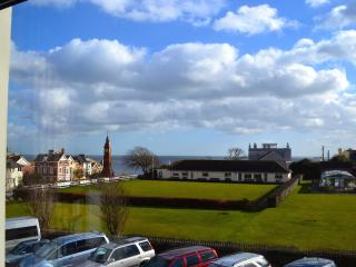 View to sea from Lounge - Seafield apartment