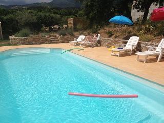 Maison Corse (juillet-août) Piscine chaufée, Venzolasca