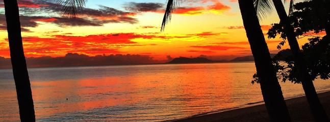 Pre dawn from beachfront  Trinity Beach