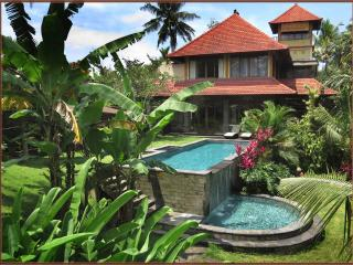 Huge secluded, luxurious & tranquil estate away from noise yet minutes from Ubud