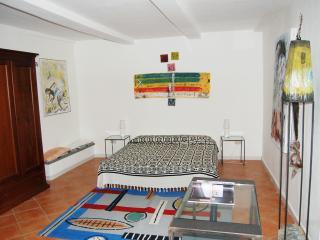 L'Atelier: vista mare e giardino d'artista