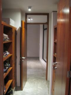 walk in closet for the master bedroom