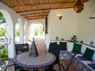 Moorish 'chill-out' area