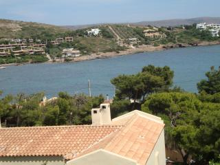 House with fantastac view overlooking the aegean, Sounio