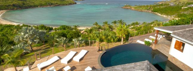 Villa Indian Song  # Beach View * Located in  Magnificent Petit Cul de Sac with