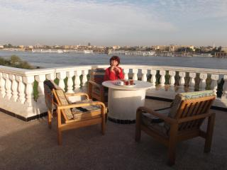 Direct Nile view with sunny terrace, Luxor