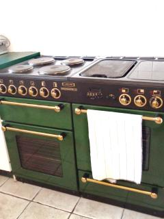 extraordinary stove in kitchen
