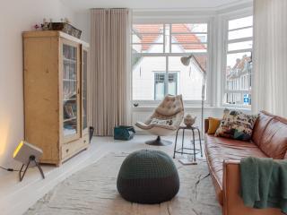 Vintage stijl desig.130m2Apt. Hist. centrum Haarlem