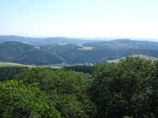 Panoramic view from the Aremberg