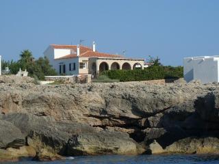 Casa primera linea del mar,con magnifica vista, Cala Blanca