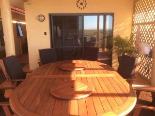 The Alfresco Dining Area for the shared use of guests.