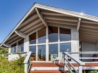 Dog-friendly house with ocean views and a private hot tub!, Oceanside