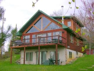Timber Trail Retreat: Modern Cabin and 180 Acre Property on Horseshoe Lake, Ely