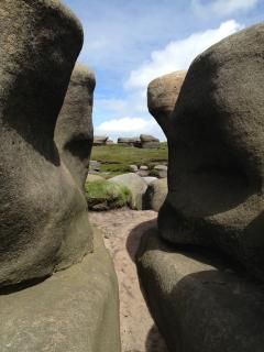 A spectacular sight awaits you from the plateau of Kinder Scout!