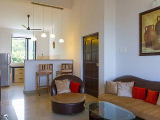 Premium,fully furnished 2 BHK with a great view, Chimbel