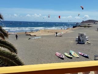 Casa con terraza en primera línea playa del Medano, El Médano