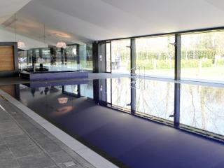 swimming pool with sauna and steam room