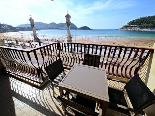 Lujo 1º linea Playa de la Concha + PARKING+WIFI, San Sebastian - Donostia