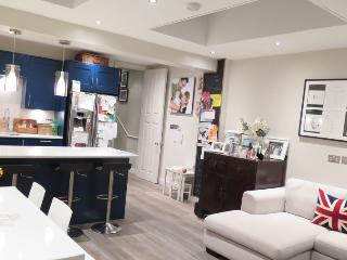 Kitchen reception/dining area