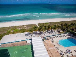 OCEANFRONT BLDG, DELUXE 2 BR,  PRIVATE BEACH, POOL, FREE TROLLEY, TENNIS COURTS