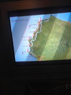 Ecuador su Perfil Costanero, tomado ventana de avión con iPhone, Ven a disfrutar