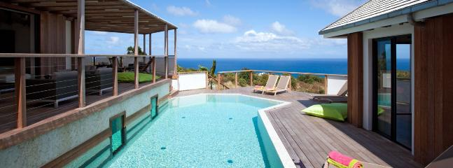 SPECIAL OFFER: St. Barths Villa 220 This Elegant Contemporary Villa Has A Panoramic Ocean View., San Bartolomé