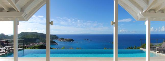 Villa The View AVAILABLE CHRISTMAS & NEW YEARS: St. Barths Villa 222 One Of The Most Private Villas On The Island!, Anse des Flamands