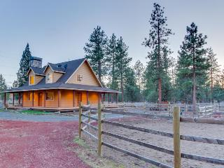 Modern, inviting house on two fenced acres - bring the dog and your horses!, Sisters