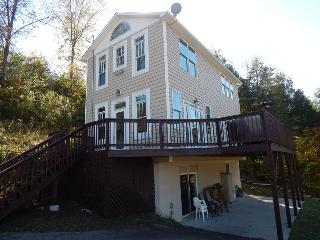 Ole Charleston includes a spacious deck and grill, boat dock and fully equipped kitchen for serving guests., Norris